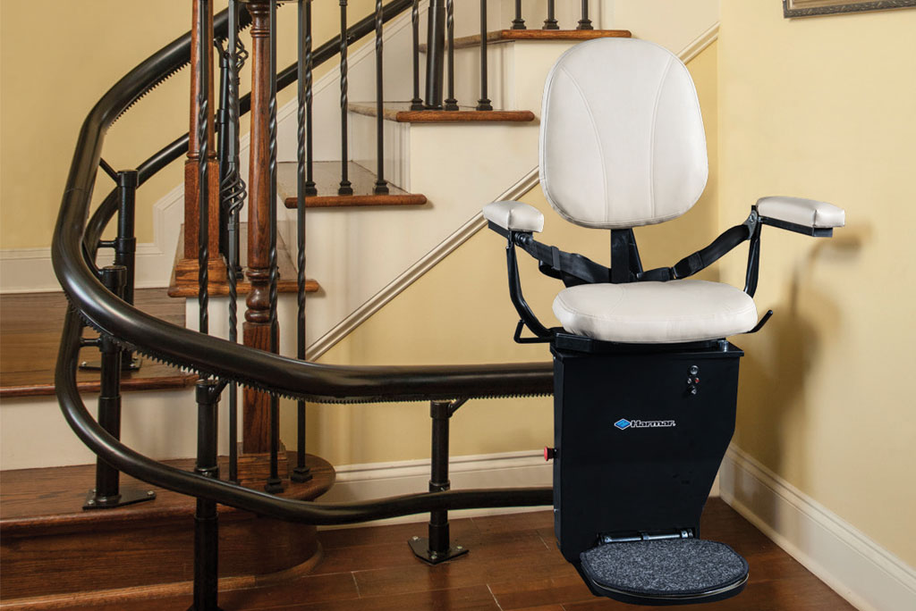 Curved rail stair lifts stairlift for curved stairs centerspan
