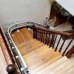 curved stairlift by Centerspan