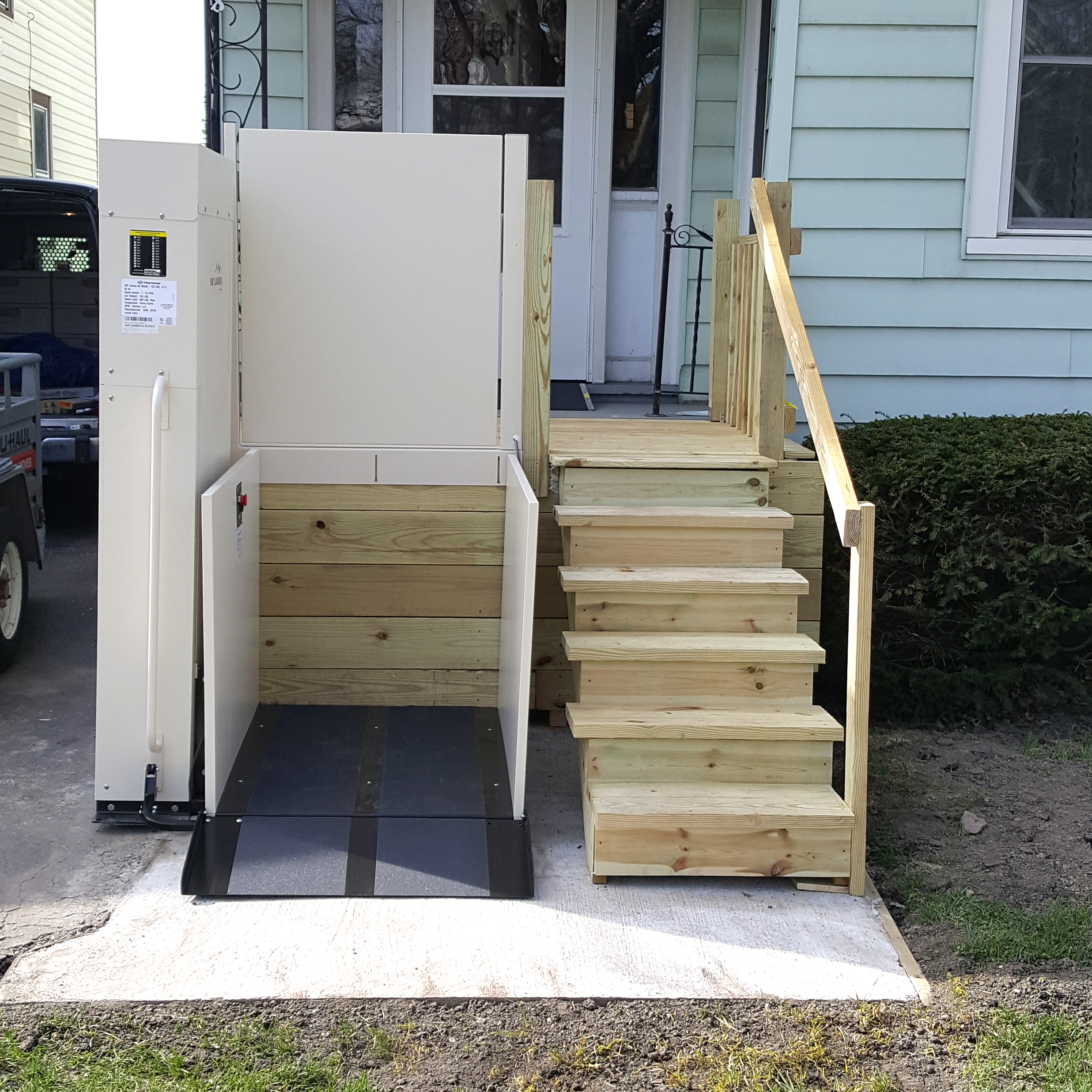 services porch lifts vegas inc accessibility las vertical stairlift lift home bruno platform