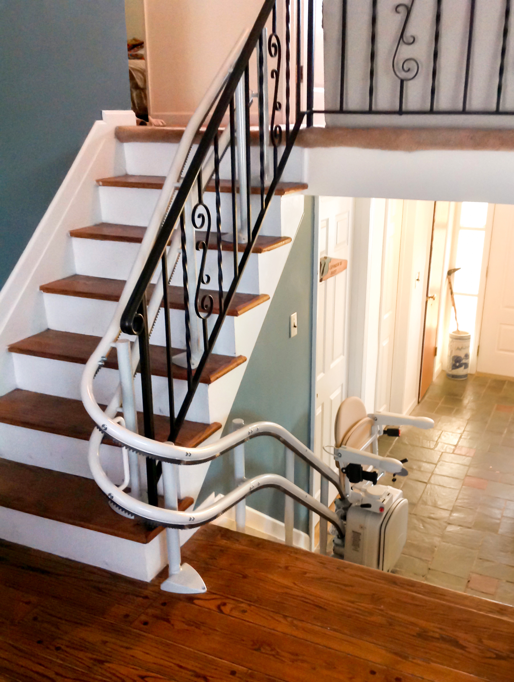 curved rail stair lifts
